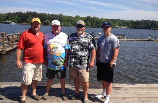 Lewing and hicks teamed together for first place stringer for Toledo bend fishing
