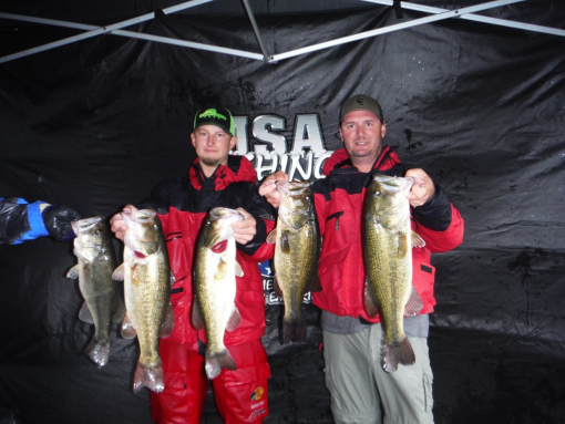 2015 usa fishing trails grand championship tb for Toledo bend fishing report
