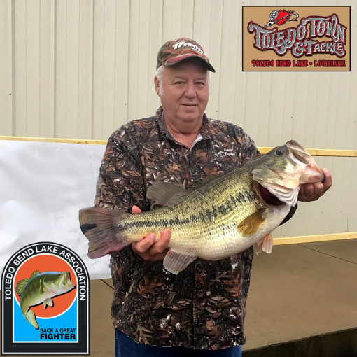 Top bass so far this year for Toledo bend fishing report
