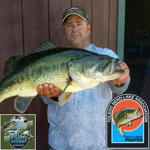 Toledo bend lunker bass program ends may 19 program for Toledo bend fishing reports