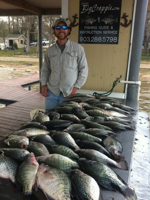 Fishing report for march 9 2012 for Cedar creek lake fishing report