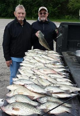4 15 16 cedar creek lake fishing report with bigcrappie for Cedar creek fishing report