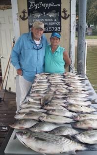 12 2 16 cedar creek lake fishing report with bigcrappie for Cedar creek fishing report