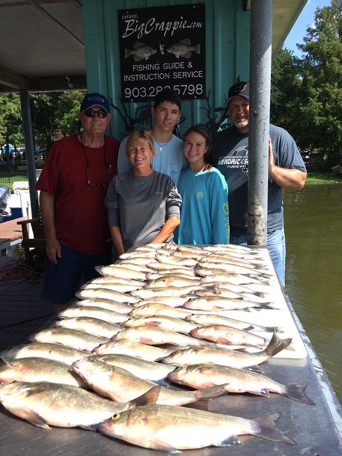 June 23rd cedar creek lake fishing report with bigcrappie for Cedar creek fishing report