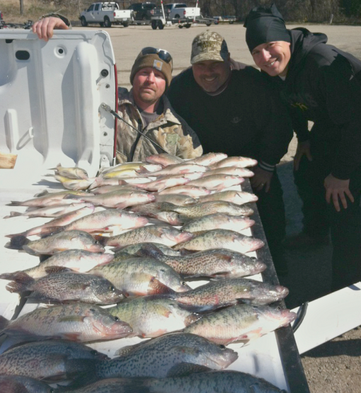 March 14 2013 fishing report with for Cedar creek lake fishing report