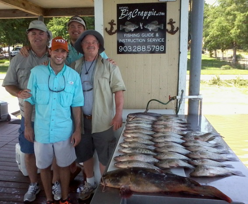 Guide report from 6 18 13 for Cedar creek lake fishing report