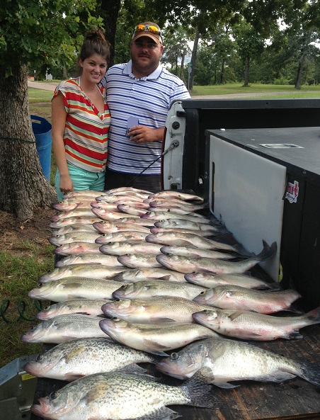 Guide report from 7 23 13 for Cedar creek lake fishing report
