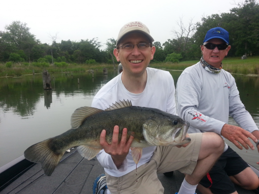Lake fork fishing report for june 3 2014 for Lake fork fishing guides