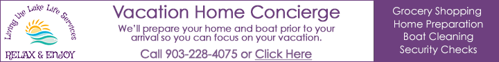 Lake Texoma Vacation Home Concierge