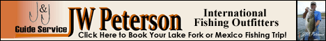 JW Peterson Lake Fork Fishing Guide