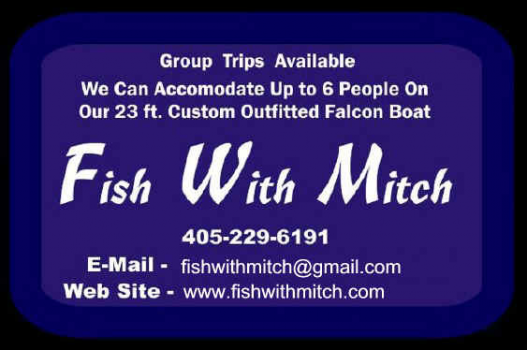 Fish with mitch lake texoma guide service lake texoma for Lifetime fishing license ok