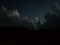 Moon over Texoma Saturday Sept 30, 2014