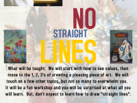 No Straight Lines Painting Class