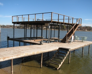 Sandy Beach Retreat - Sleeps 15 - Double Boat House - Double Lot