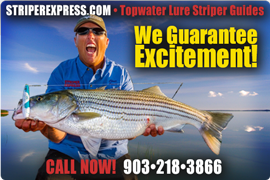 Striper Express at Lake Texoma