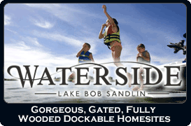 Waterside Lakefront Homes at Lake Bob Sandlin