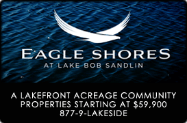 Eagle Shores on Lake Bob Sandlin
