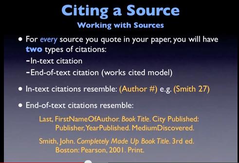 scientific essay citation