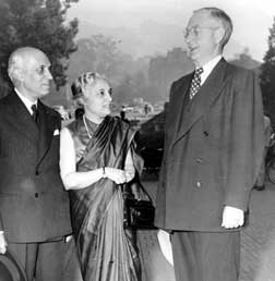 Nehru at UCB