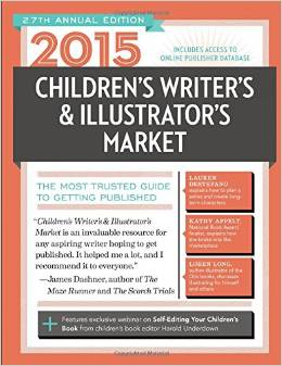 Cover of the 2015 edition of the book, Children's Writer's and Illustrator's Market