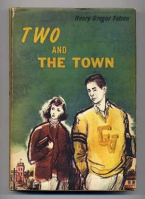cover, Two and the Town, first edition, Scribner