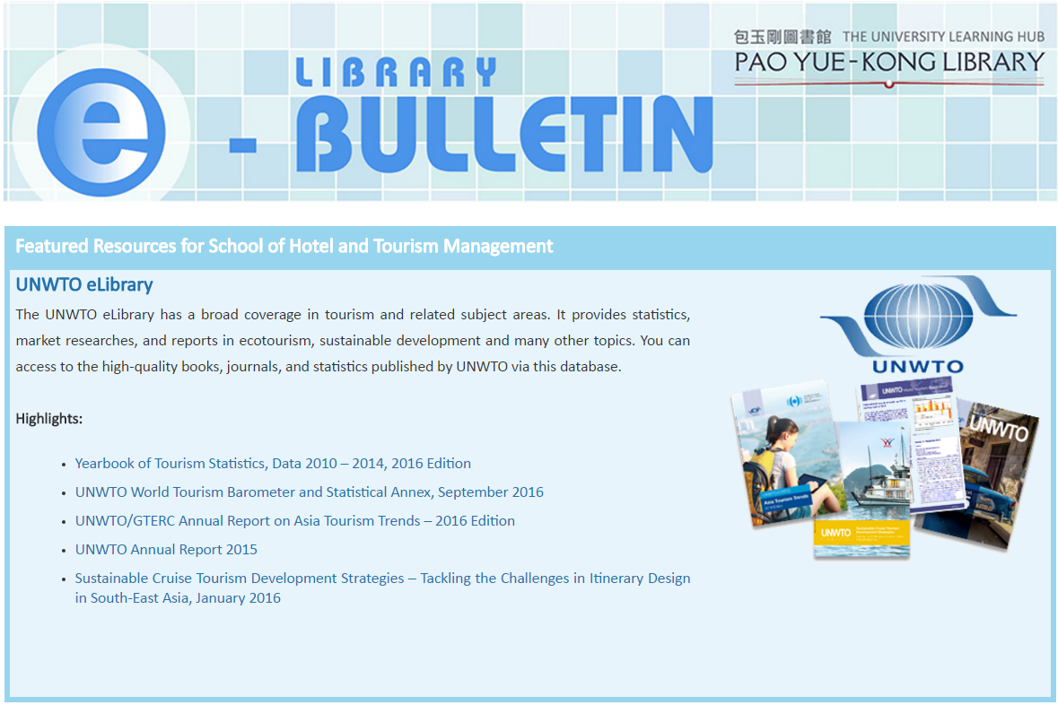 Latest e-Bulletin for SHTM