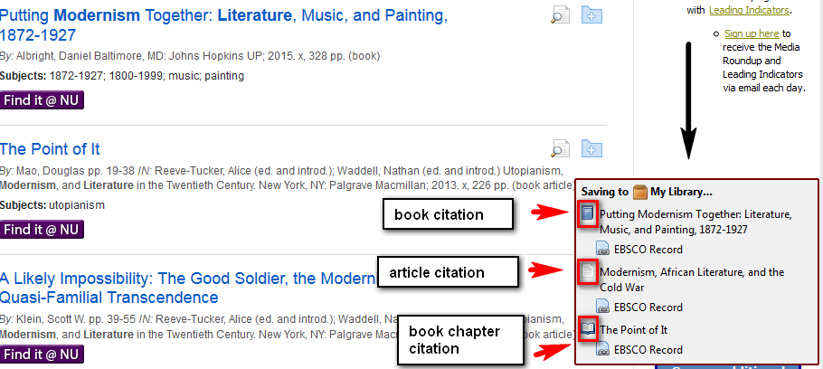 Adding citations from an indexdatabase zotero support libguides selected citations have been saved in your zotero library zotero also identifies the correct citation type such as book article book chapter etc ccuart Images
