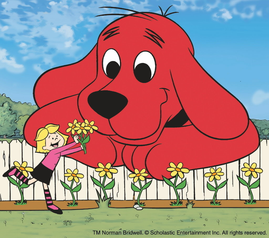 Clifford The Big Red Dog Swimming