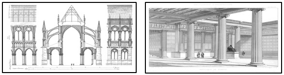 Thumbnails of architectural drawings