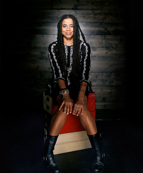 Suzan-Lori Parks photographed by Eric Schwabel at Schwabel Studio in Venice, California, 2006