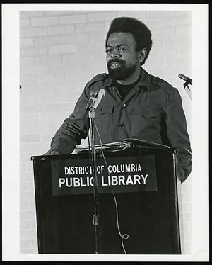 Amiri Baraka used by permission, Givens Collection University of Minnesota