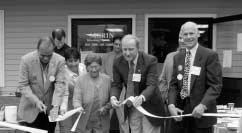 Ribbon cutting for West Warren Library