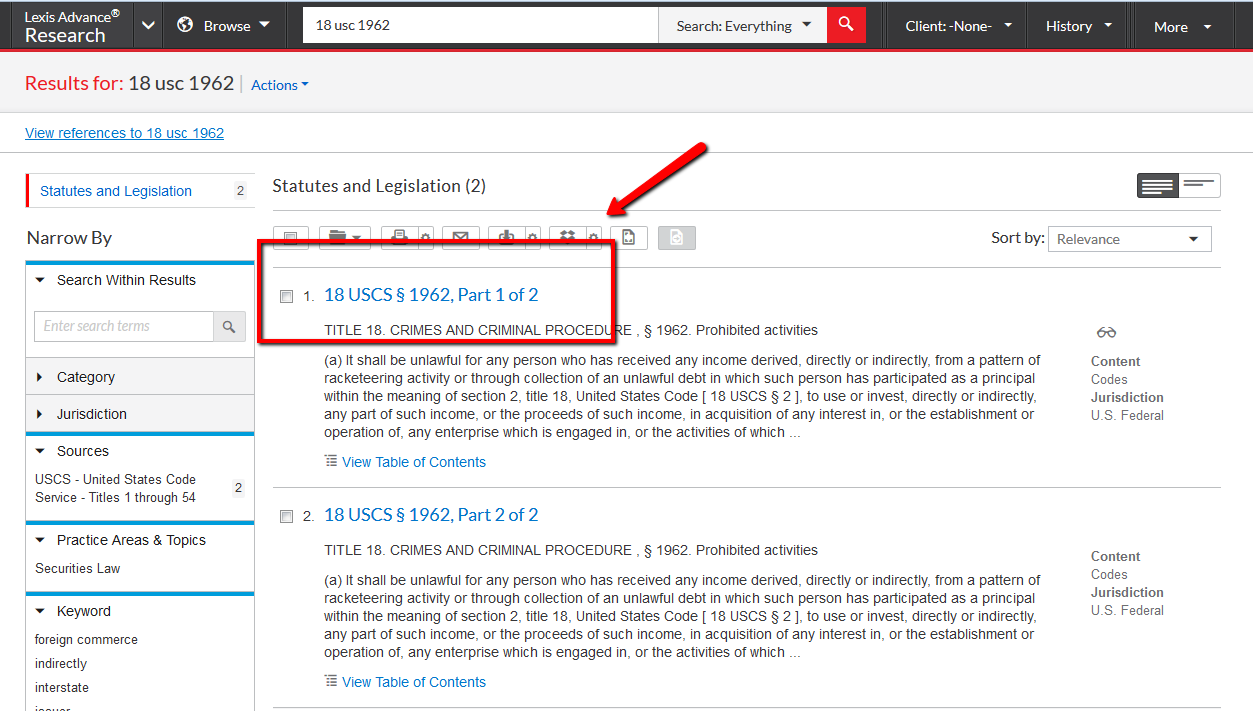 Find Case Law from Statutes or Regulations - Finding Case Law ...