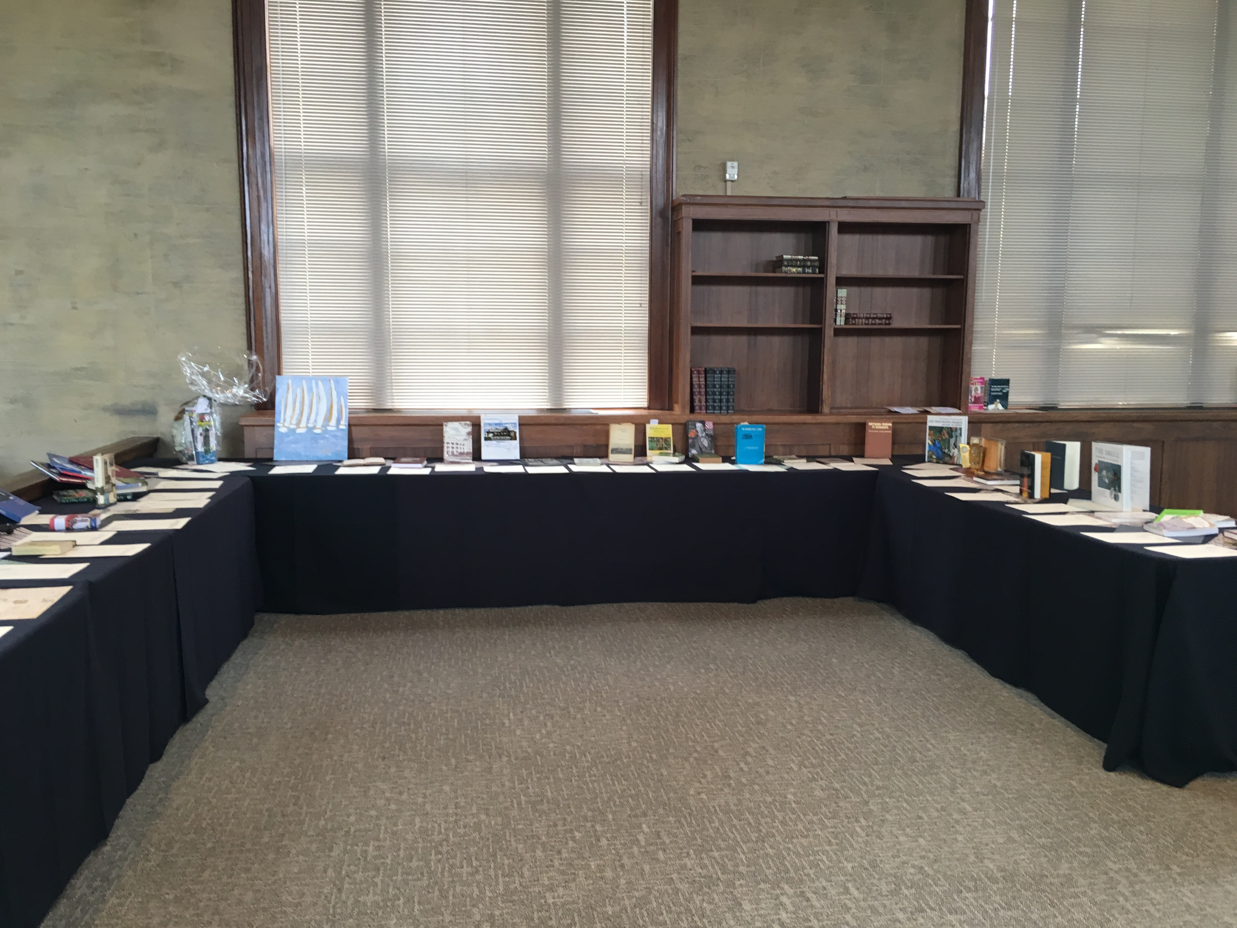 Silent Auction for Annual Dinner 2015