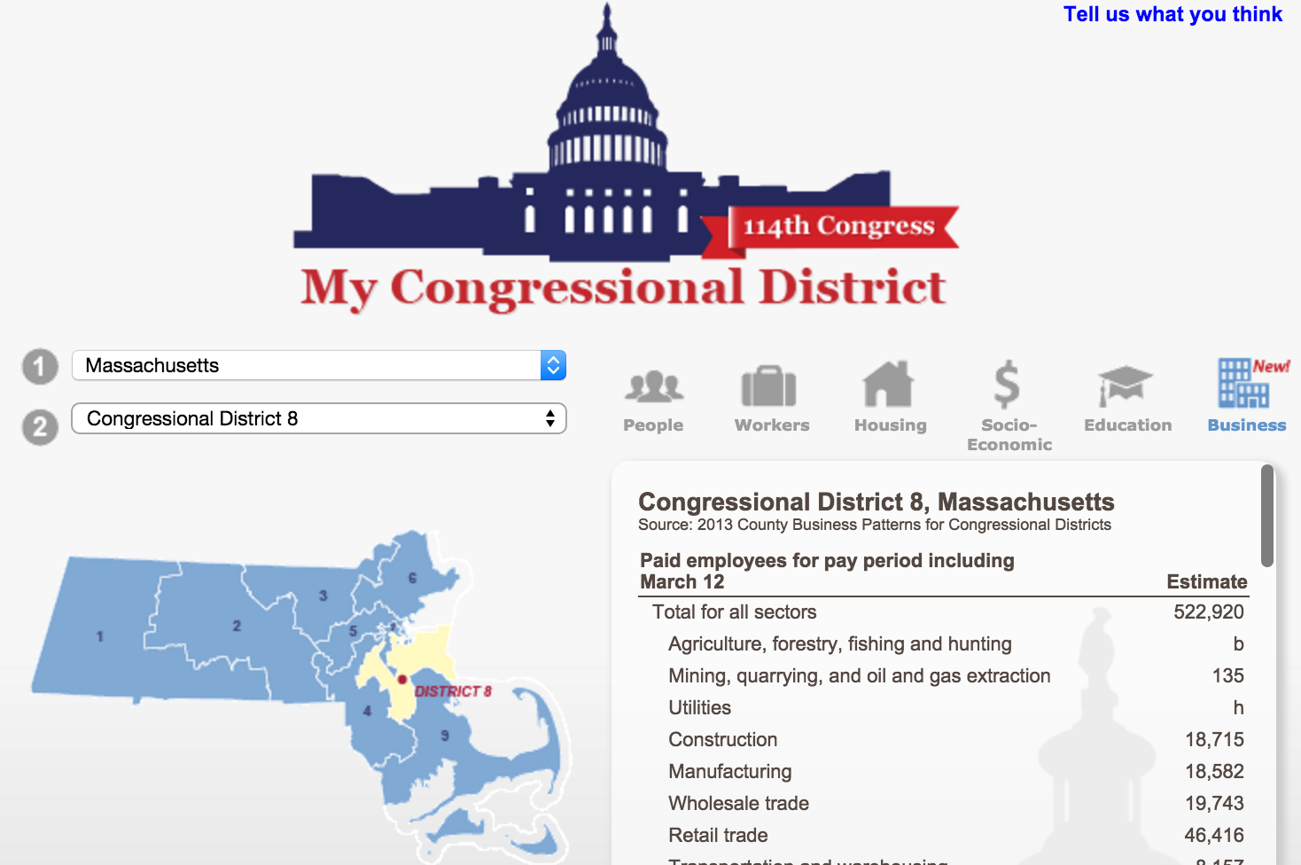map of congressional district 8 Massachusetts