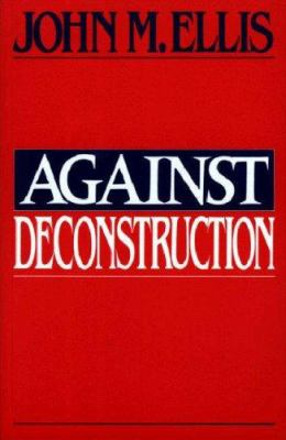 Against Deconstruction book cover