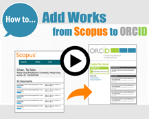 How to Add Works from Scopus to ORCID [1:47]