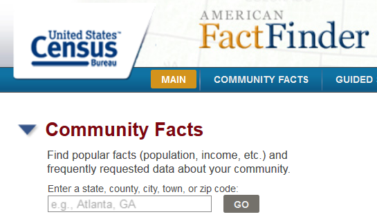 American Community Survey Home
