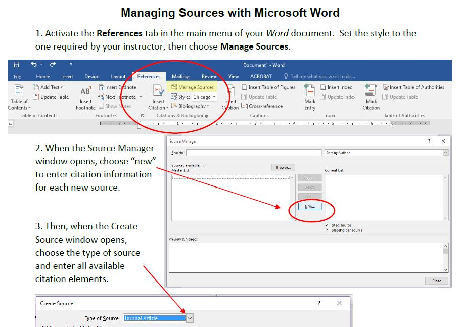 how to add footnotes in word chicago style