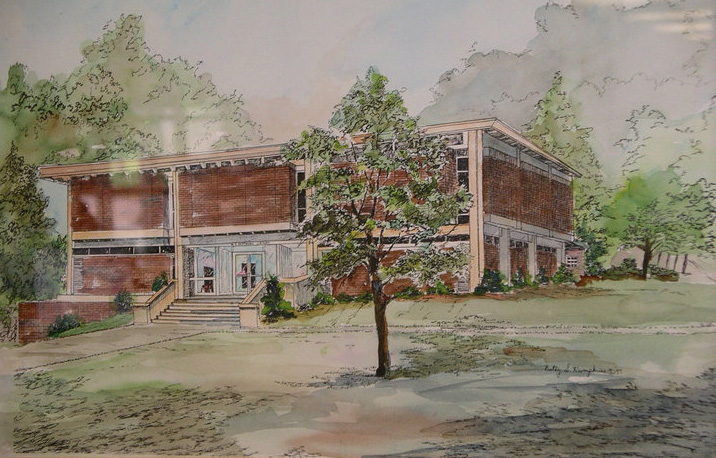 Drawing the Eastwood Library