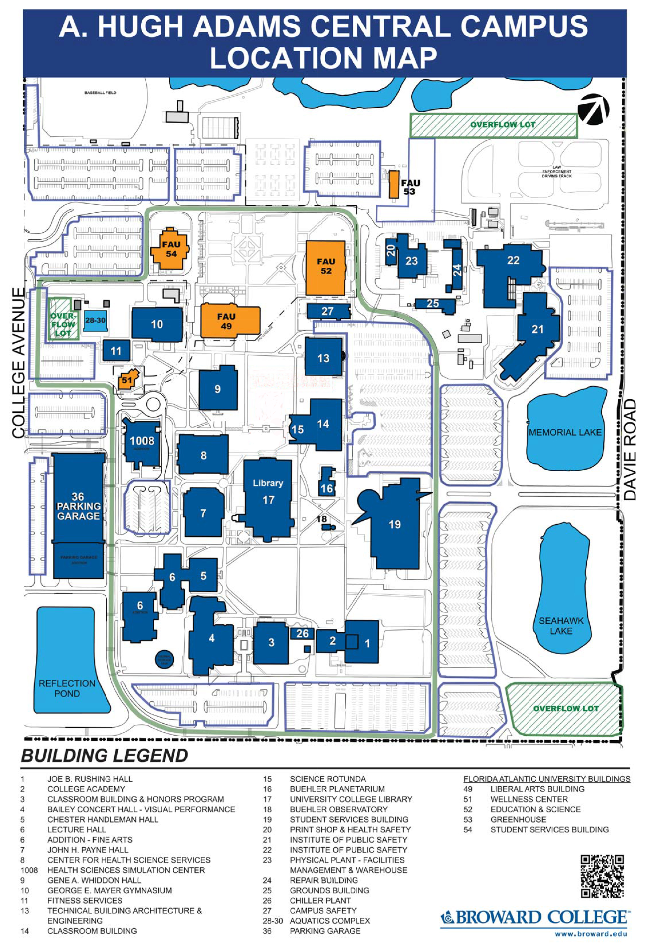 Broward College South Campus Map Rtlbreakfastclub