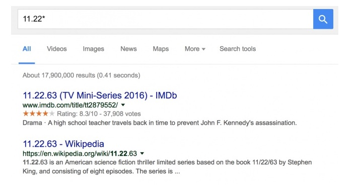 Google The Power Of The Asterisk Google Advanced Search Google