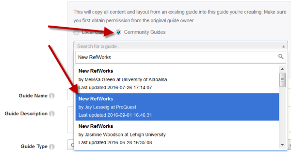 find the correct guide - New RefWorks by Jay Lesseig at ProQuest