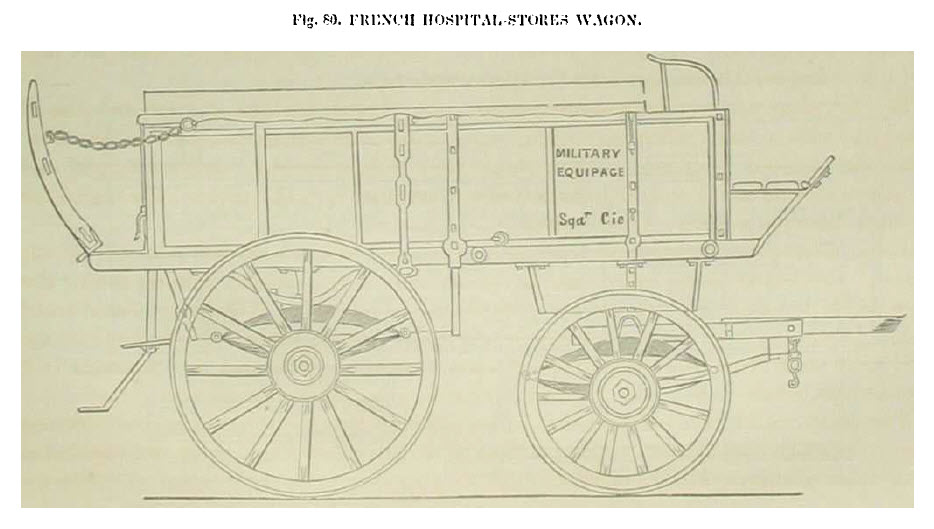 French Hospital Stores Wagon