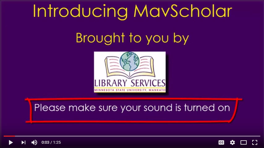 Introducing MavScholar video screenshot