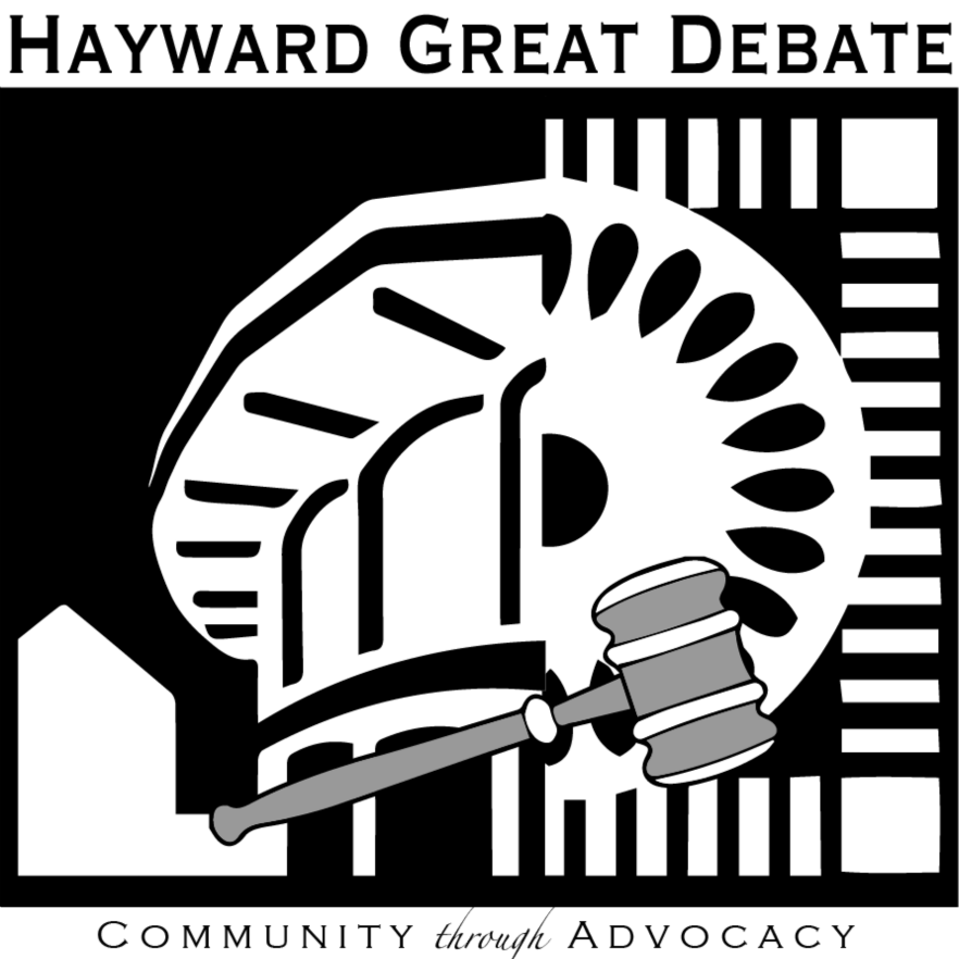 Hayward Great Debate Logo