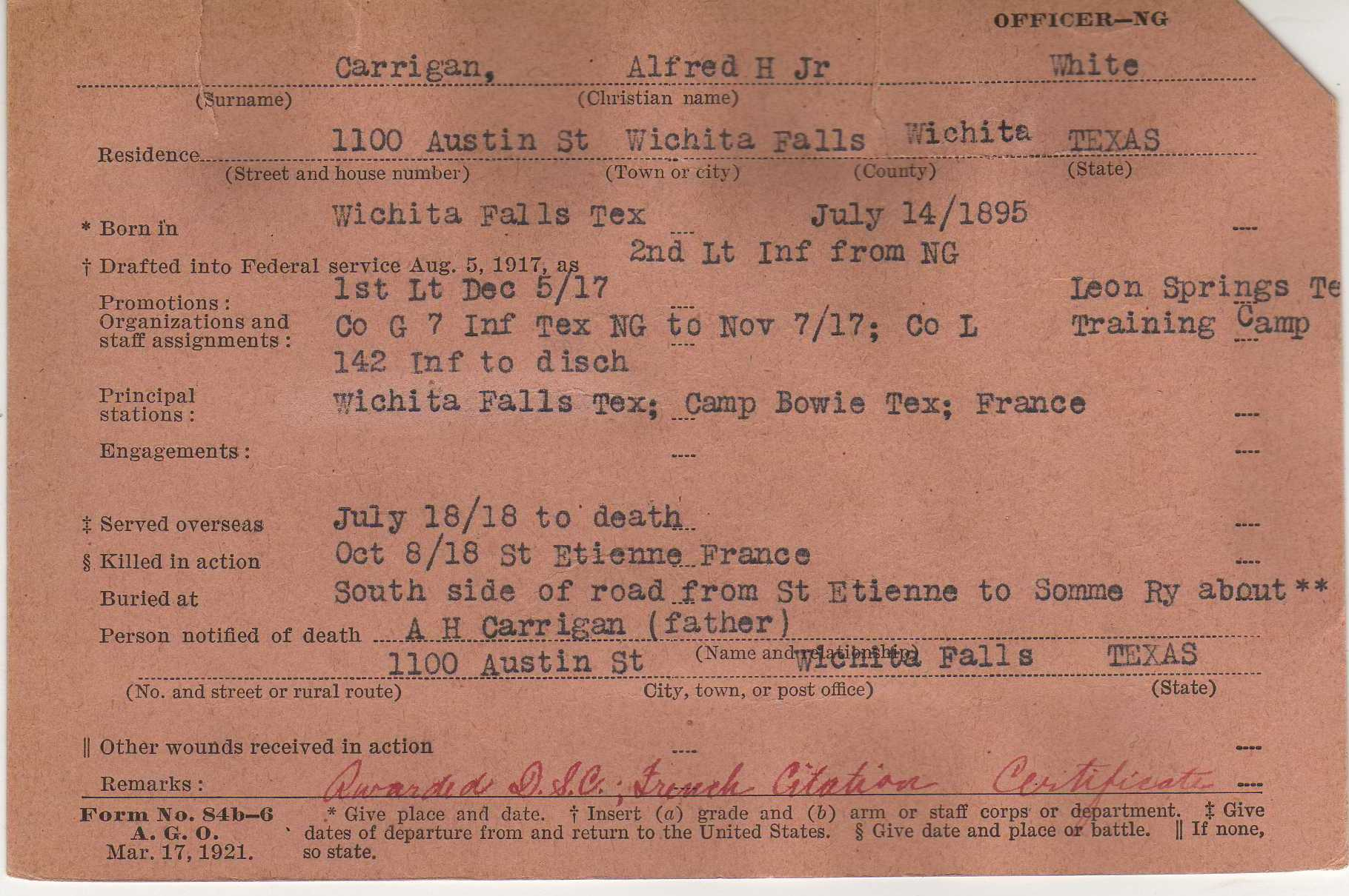 Service Records And Pension Records World War I Research Guides