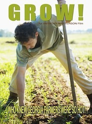 GROW! Movie Poster about young sustainable farmer
