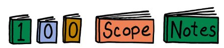 100 Scope Notes blog