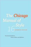 Chicago Style Manual